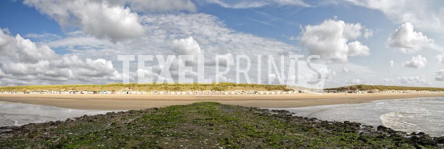 panorama strand paal 12 texel - texelprints